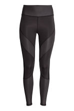 Yoga tights - Black - Ladies | H&M CN 2